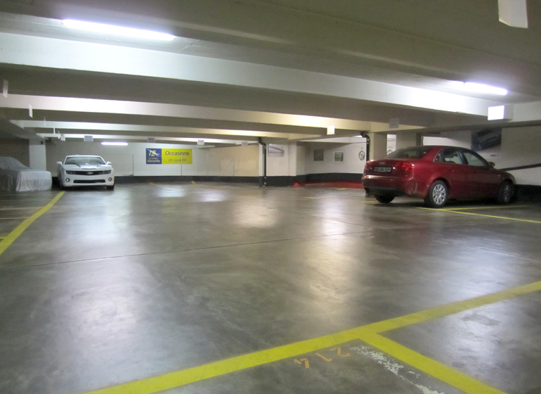 Parking ruchonnet gare lausanne parking couvert priv s curis vid o surveillance location - Location garage lausanne ...