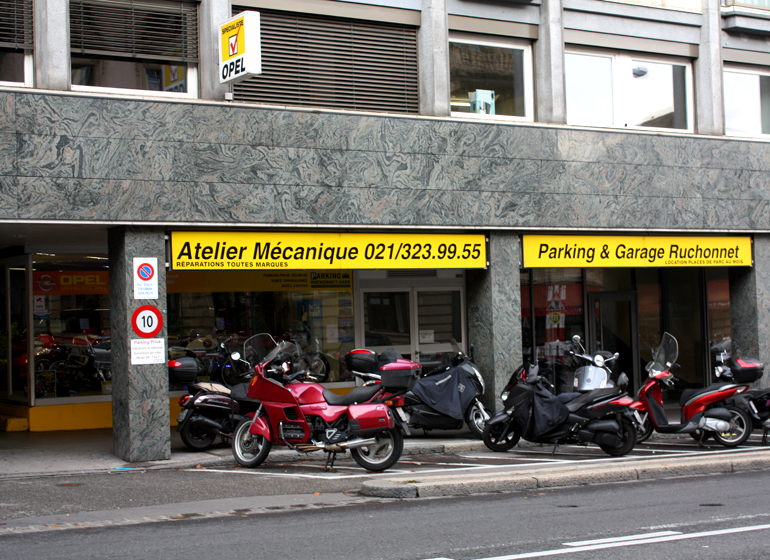 Parking ruchonnet gare lausanne parking priv s curis for Garage louis xvi nantes horaires